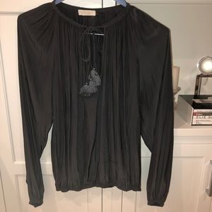 Ramy Brook dark gray top